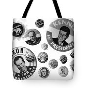 Campaign Buttons Tote Bag
