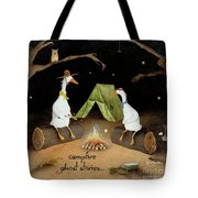 Campfire Ghost Stories Tote Bag