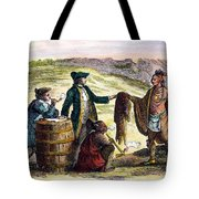 Canada: Fur Traders, 1777 Tote Bag