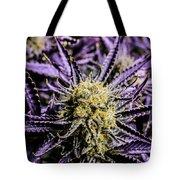 Cannabis Macro Tote Bag