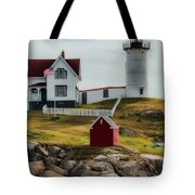 Cape Neddick Lighthouse 4 Tote Bag