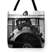 Captain Eddie Rickenbacker  Tote Bag by War Is Hell Store