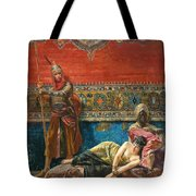 Captive In The Harem Tote Bag