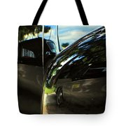 Car Reflection 8 Tote Bag