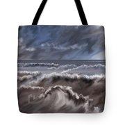 Caramel Seas Tote Bag