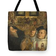 Cardinal Bessarion With The Bessarion Reliquary Tote Bag