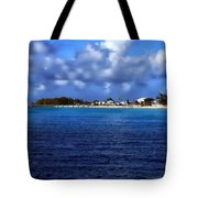 Caribbean Sea And Beach Tote Bag
