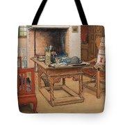 Carl Larsson - Peek-a-boo 1901 Tote Bag