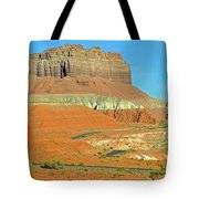 Carmel Canyon Trail In Goblin Valley State Park, Utah Tote Bag