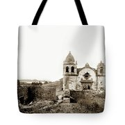 Carmel Mission By A.j. Perkins 1880 Tote Bag