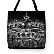 Carousel At Night Tote Bag