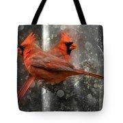 Cary Carolina Cardinals  Tote Bag