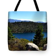 Cascade Lake Tote Bag