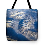 Cascade Mountains Tote Bag