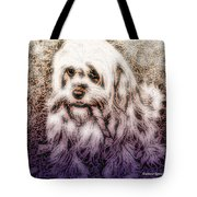 Cassie Girl Tote Bag
