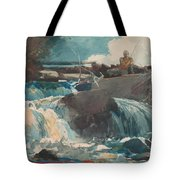 Casting In The Falls Tote Bag