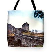 Castle Eilean Scotland Tote Bag