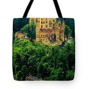 Castle Hohenschwangau Tote Bag