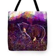 Cat Kitten Mieze Sunset Sun Grass  Tote Bag