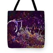 Cat Mieze Kitten Mackerel Red Cat  Tote Bag