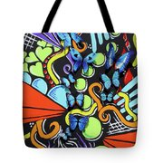 Catch My Vibe Tote Bag