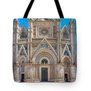 Cathedral Of Orvieto, Duomo Di Orvieto, Umbria, Italy Tote Bag