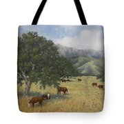 Cattle Tote Bag by Marv Anderson