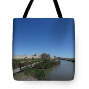 Cattle Of Saint Louis In Aigues Morte Tote Bag