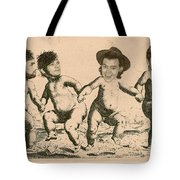 Celebrity Etchings - One Direction   Tote Bag