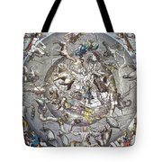 Celestial Planisphere, 1660 Tote Bag