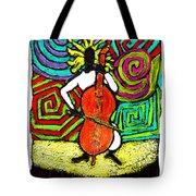 Cello Soloist Tote Bag