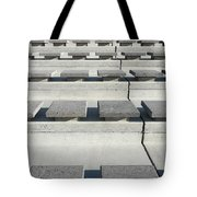Cement Seats Tote Bag