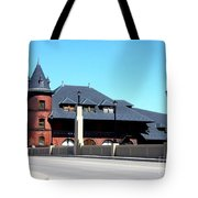 Central New Jersey Railroad Station Tote Bag