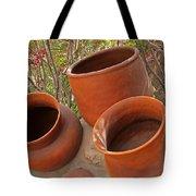 Ceramic Pots Tote Bag
