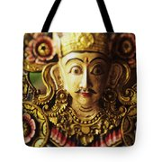 Ceremonial Mask Tote Bag