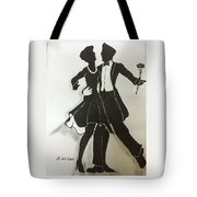 Cha Cha In The Shadows Tote Bag