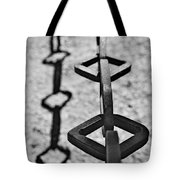Chained Shadows Tote Bag