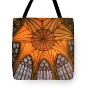 Chapter House York Minster Tote Bag
