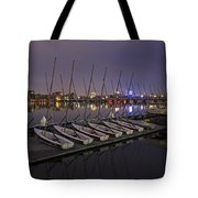 Charles River Boats Clear Water Reflection Tote Bag