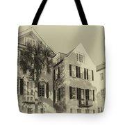 Charleston Style Houses Tote Bag