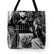 Charlie Chaplin Collection Tote Bag