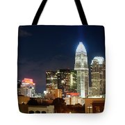Charlotte Skylilne At Night Tote Bag