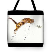 Chasing The Dragon Tote Bag