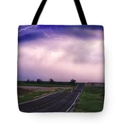 Chasing The Storm - County Rd 95 And Highway 52 - Colorado Tote Bag