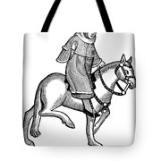 Chaucer: The Man Of Law Tote Bag