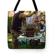 Chef Cooking Tote Bag