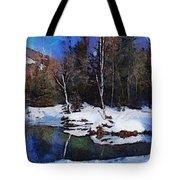 Chena Hot Springs Tote Bag