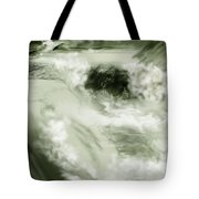 Cherry Creek White Water Tote Bag by Anne Norskog