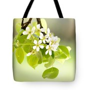 Cherry Flowers Tote Bag