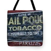 Chew Mail Pouch Tobacco Ad Tote Bag